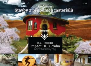 konference - Stavby z přírodních materiálů 2014